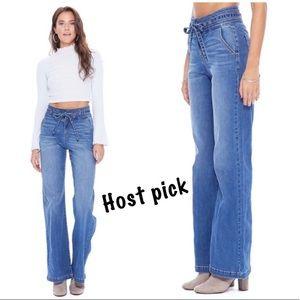 🎉Host pick🎉 Wide leg denim jean pants